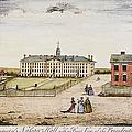 Princeton College, 1764 by Granger