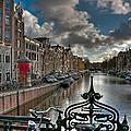Prinsengracht And Leidsestraat. Amsterdam by Juan Carlos Ferro Duque