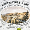 Print Shows Construction Of A Railroad by Everett