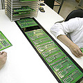 Printed Circuit Board Assembly Work by Ria Novosti
