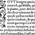 Printing Initial, C1584 by Granger