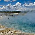 Prismatic Spring Yellowstone by Jon Berghoff