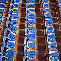 Programs On Rows Of Seating by Marlene Ford