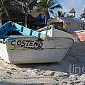 Progreso Mexico Fishing Boat by Shawn O'Brien