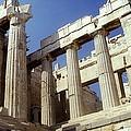 Propylaia Acropolis by Andonis Katanos