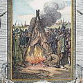 Protestant Martyrs, 1563 by Granger