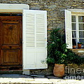 Provence Door Number 4 by Lainie Wrightson