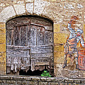 Provence Window And Wall Painting by Dave Mills