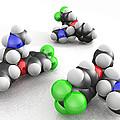 Prozac Molecules by Phantatomix