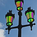 Psychedelic Streetlamps by Richard Henne
