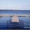 Public Dock On Chautauqua Lake by Rose Santuci-Sofranko