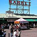 Public Market by Carol  Bradley