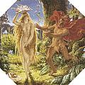 Puck And The Fairy by Joseph Noel Paton