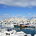 Puerto Banus Marina by Artur Bogacki