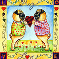 Pug Love by Lyn Cook