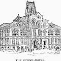 Pullman: Schoolhouse by Granger