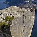 Pulpit Rock by Heiko Koehrer-Wagner