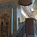 Pulpit San Xavier Mission by Jon Berghoff