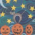 Pumpkin Perch by Pamela Schiermeyer