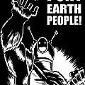 Puny Earth People by Ben Von Strawn