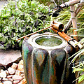 Purification Basin For Tea Ceremony by Elaine Plesser
