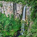 Purlingbrook Falls In Australia by Eric Tressler