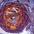 Purple And Gold by Yvette Pichette