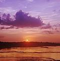 Purple And Orange Sunset by Vince Cavataio - Printscapes