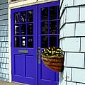 Purple Doors by Dale   Ford