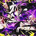 Purple Iris by James Harris