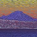 Purple Mountain Majesty Sunset by Tim Allen