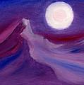 Purple Night 2 by Hakon Soreide