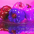 Purple Peppers by Peggy Starks