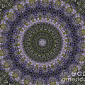 Purple Pleasure Abstract by Clare Bambers