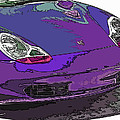 Purple Porsche Nose 2 by Samuel Sheats