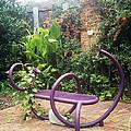 Purple Seat by Laura Folk
