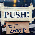 Push It Good by Kim Fearheiley