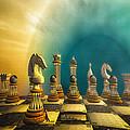 Pushing Back The Knight by Bob Orsillo