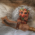Puukko Troll by Merja Waters