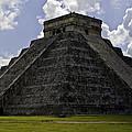 Pyramid  Of Kukulkan  by Ken Frischkorn