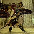 Pyrrhic Dance by Sir Lawrence Alma-Tadema