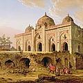 Qal' A-l-kuhna Masjid - Purana Qila by Robert Smith