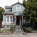 Quaint House Architecture - Benicia California - 5d18594 by Wingsdomain Art and Photography