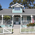 Quaint House Architecture - Benicia California - 5d18817 by Wingsdomain Art and Photography