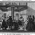 Quaker Meeting, C1790 by Granger