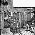 Quaker Meeting by Granger