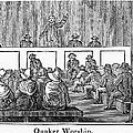 Quaker Worship, 1842 by Granger