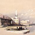 Quay At Suez Febrary 11th 1839 by Munir Alawi