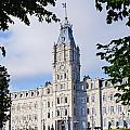 Quebec Parliament Buildings Quebec by David Chapman