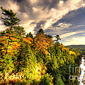 Quechee Gorge In The Fall  by Rob Hawkins